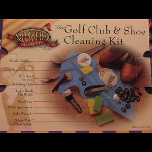 Other - New in box-golf club and shoe cleaning kit